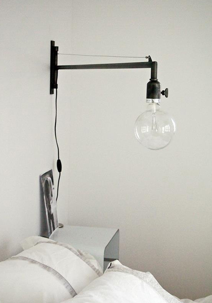 swing arm wall light bodie and fou award winning inspiring. Black Bedroom Furniture Sets. Home Design Ideas