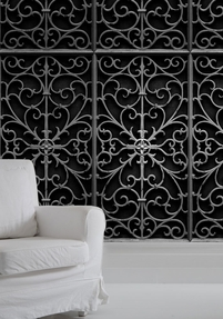 Wallpaper Wrought Iron