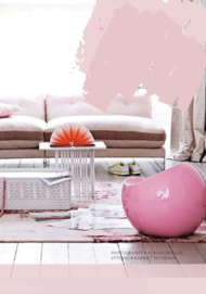 Ball chair - Soft Pink