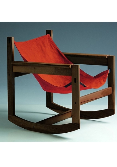 Pelicano rocking chair - Paprika