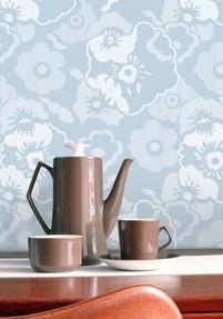 Wallpaper Alice - Blue