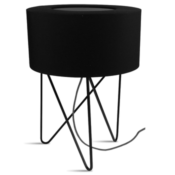 Black Tribeca table lamp
