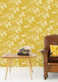 Wallpaper Fayres - Mustard