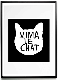 Mima Le Chat print {Exclusive}