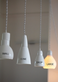 Pendant light - White