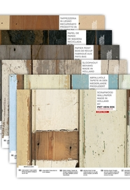 Scrapwood wallpaper SAMPLE BOX