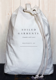 'Soiled Garments' Laundry Bag