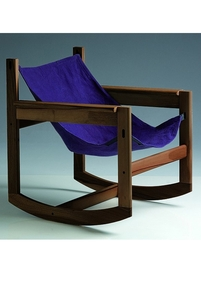 Pelicano rocking chair - Violet