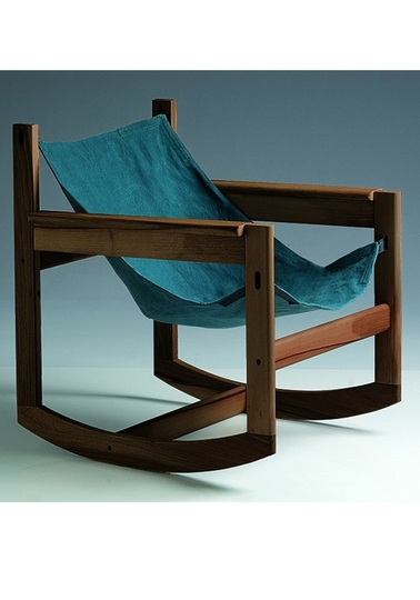Pelicano rocking chair - Turquoise Green