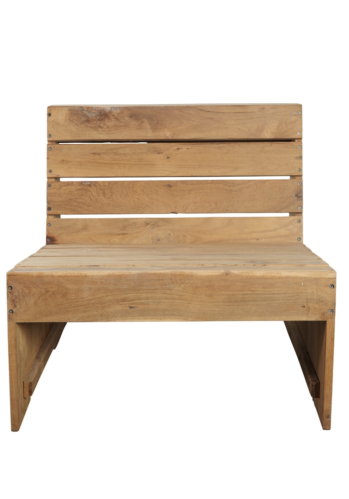 chunky wooden garden chair at bodie and fou bodie and