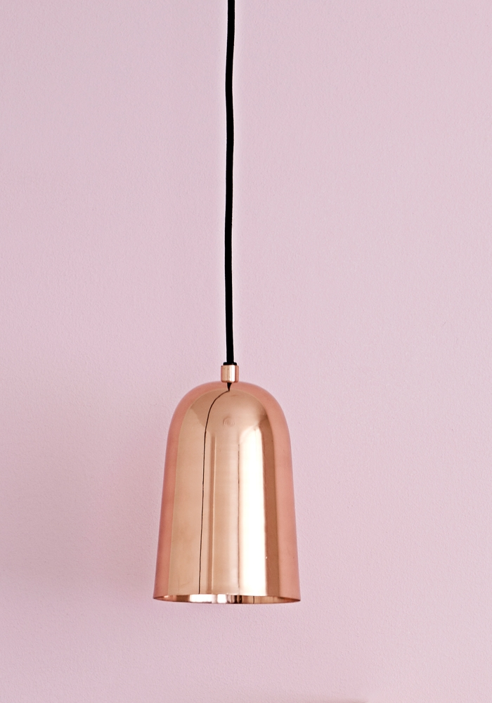 best seller freja copper pendant light from bodie and fou