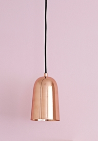 Freja Copper pendant light