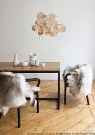 Bau Pendant Light - Natural