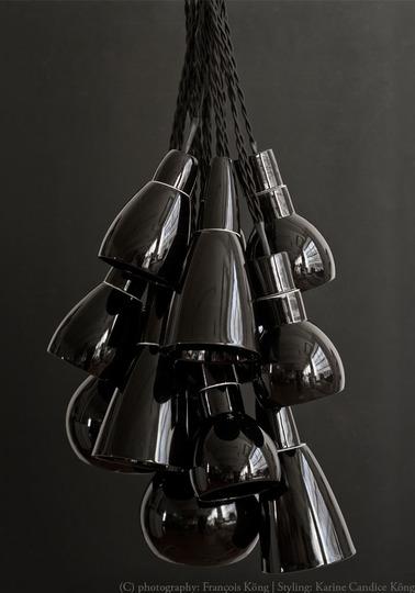 Cluster light - Black