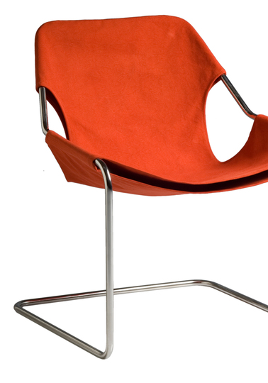 Paulistano chair, Paprika canvas cover
