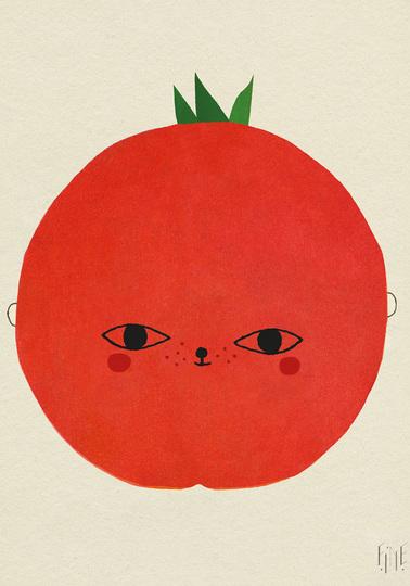Mx Tomato print