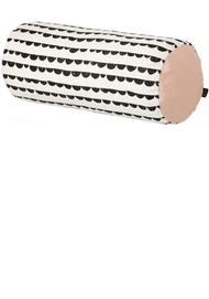Half-Moon Cushion, Black