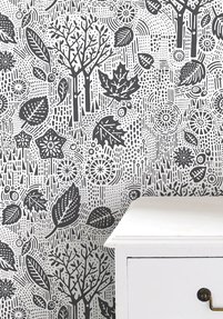 Autumn Wallpaper - Charcoal