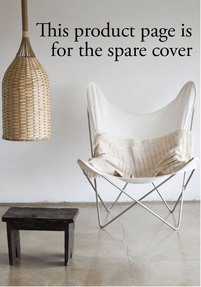 Cover AA Butterfly chair - Canvas