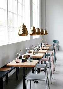 Aston pendant light, Brass