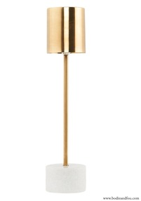 Table lamp, Marble & Brass