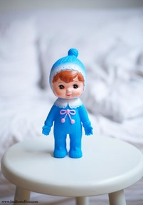 Woodland Doll, Blue