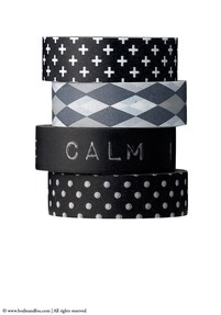 Set of Masking tapes, Black & White