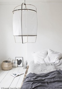 Linen duvet cover 260 x 240 cm - Cloud grey