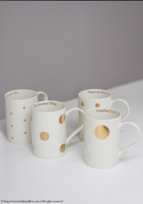 Besotted mugs, set of 4