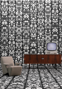 Withered Flowers Black Archives wallpaper JOB-06 by Studio Job
