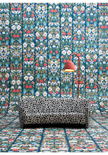 Withered Flowers Colour Archives wallpaper JOB-07 by Studio Job