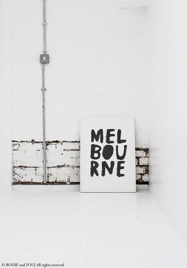 MELBOURNE print