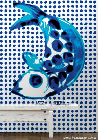 Addiction wallpaper PNO-01 by Paola Navone