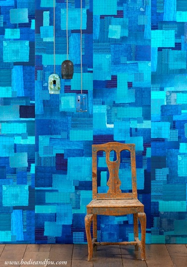 Addiction wallpaper PNO-03 by Paola Navone
