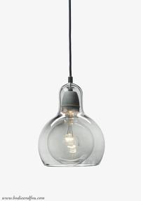 Mega Bulb Pendant light, SR2, Silver