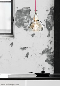 Mega Bulb Pendant light, SR2, Red