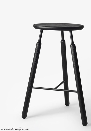 Bar Stool NA4, Black