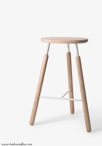 Bar Stool NA4, Natural oak