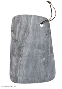 Marble chopping board, grey