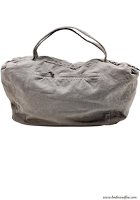 Canvas travel bag, Grey