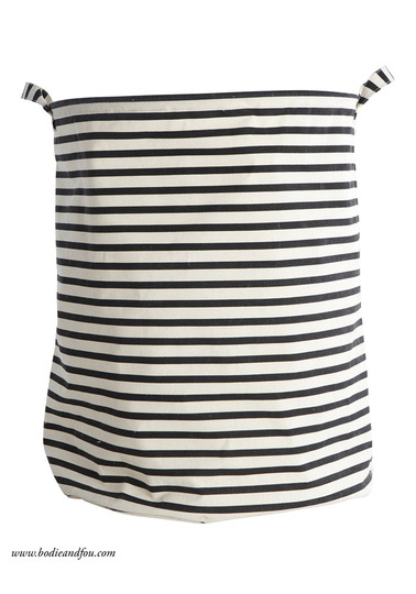 Laundry bag, Stripes