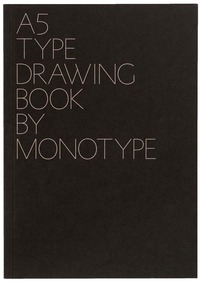 A5 Monotype notebook