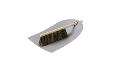 Dustpan & Brush light grey