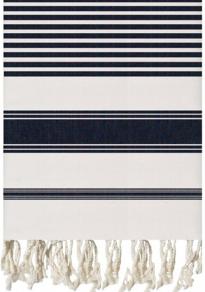Navy Woven Texture Fouta