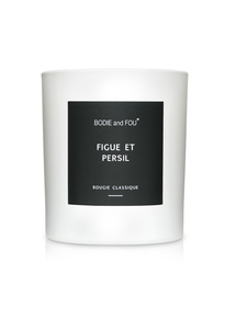Classic Scented Candle Fig and Parsley