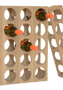 Oak Modular Wine Rack