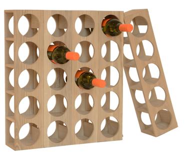 Oak Modular Wine Rack