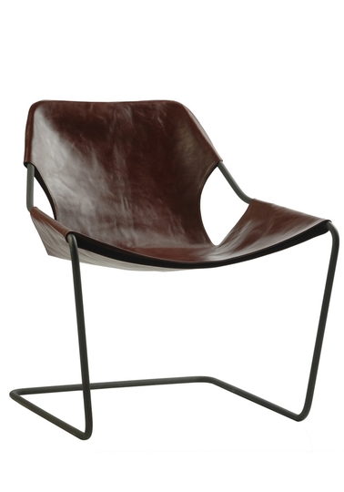 Paulistano chair - Cognac leather cover